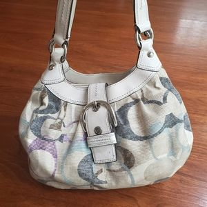 Coach Limited Edition Signature Hobo